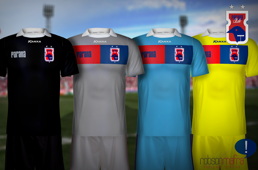 Camisas de Goleiro, Paraná Clube 2013, Kanxa. Goalkeeper shirt