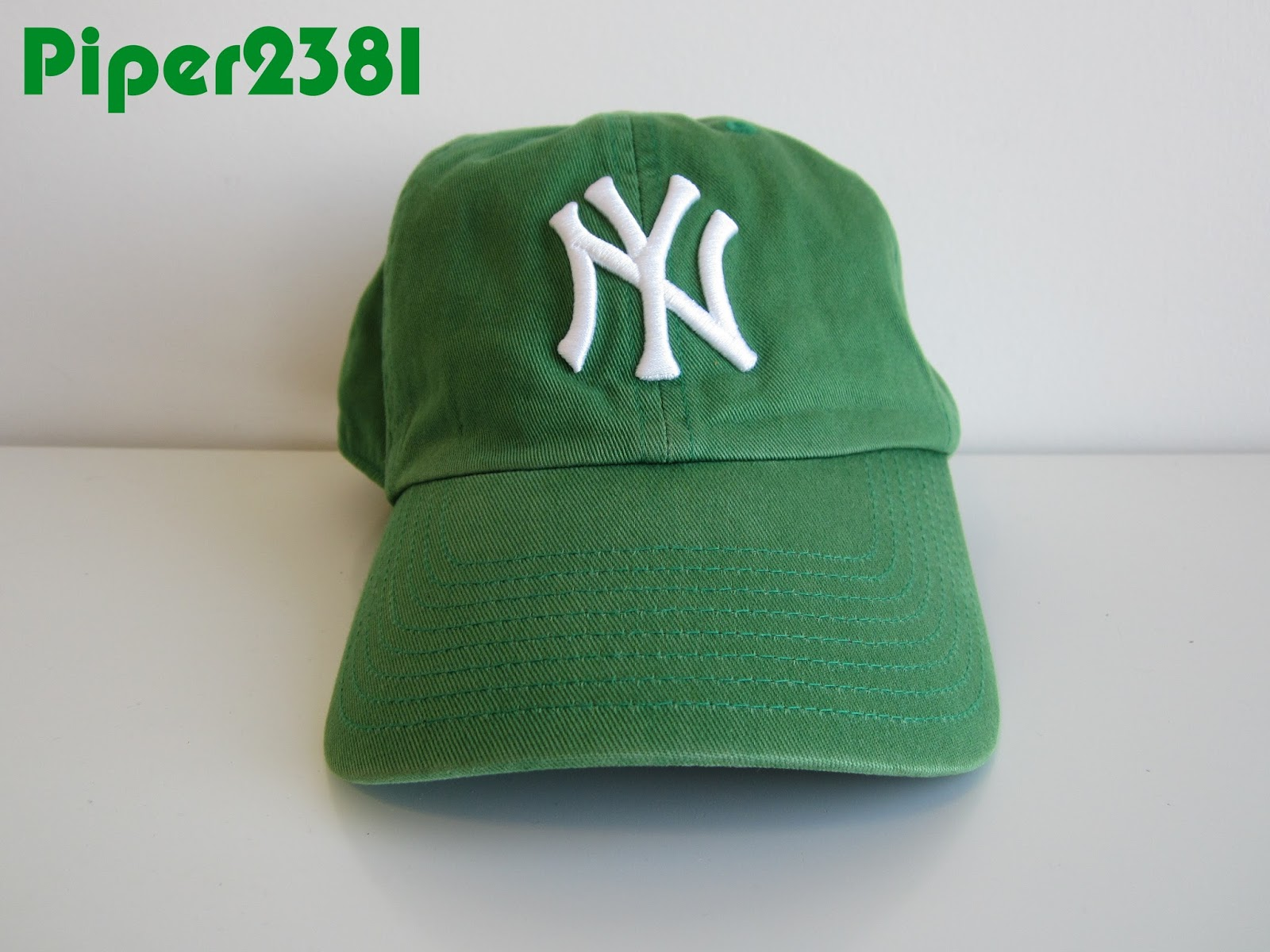 b1e537d0415 Happy St. Patrick s Day everyone! This is my green Yankees hat that I like  to wear every year around St. Patrick s Day. Besides the Kelly green  colorway it ...