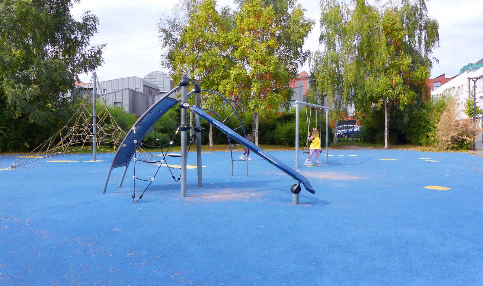 Jardin Jean Moulin, Tourcoing - Aire de jeux