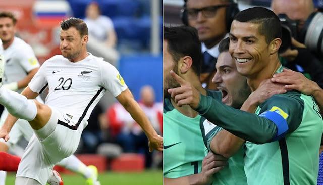 Nueva Zelanda vs Portugal en vivo