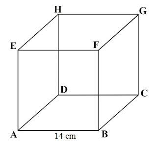 Prisma ialah berdiri ruang yang terdiri dari Kumpulan Soal Volume Kelompok Prisma : Kubus dan Balok