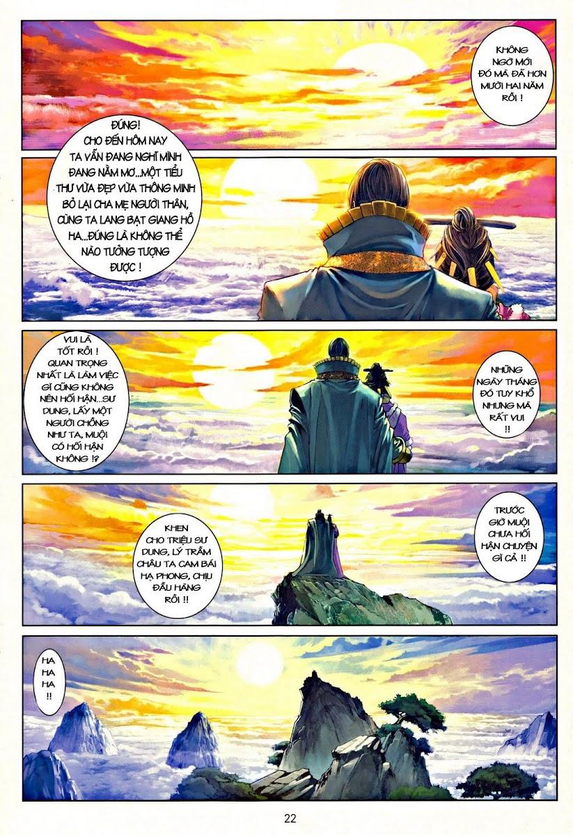Ôn Thụy An Quần Hiệp Truyện chap 37 trang 22