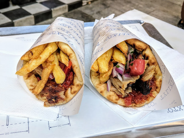 Gyros from Tylixto in Athens