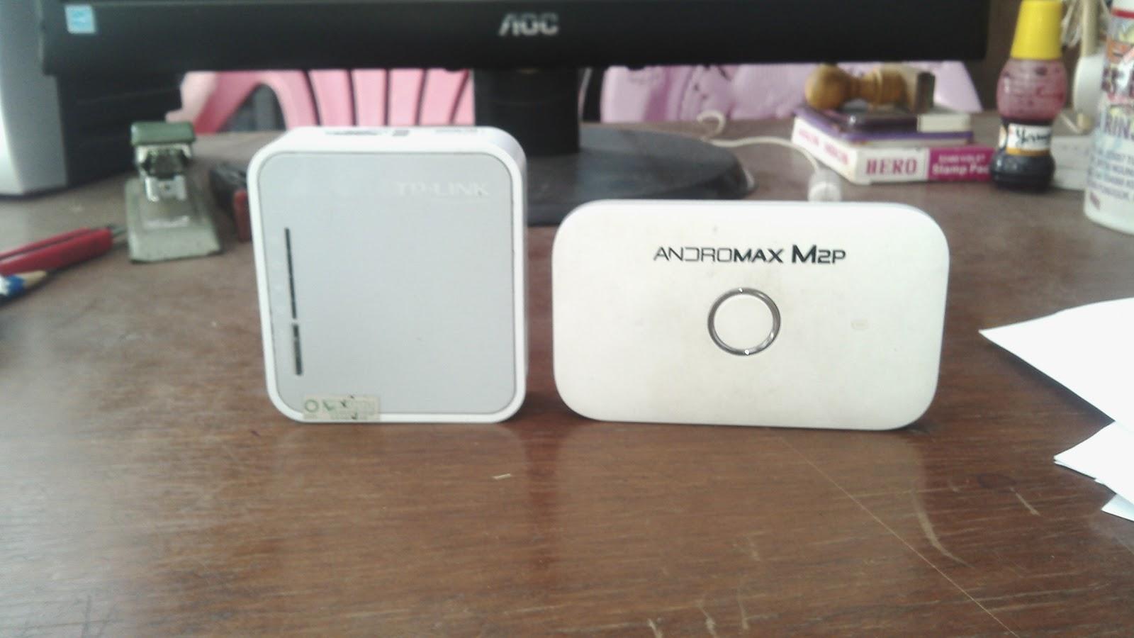 Jual Router 3G 4G TP Link MR3020 Dan Modem Andromax M2P