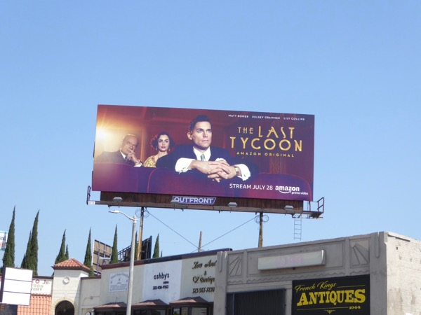 Last Tycoon season 1 billboard