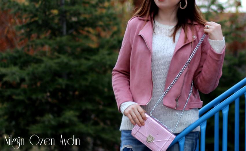 Pudra Süet Ceket-moda blogu-fashion blog