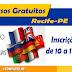 Cursos gratuitos de inglês, alemão, francês e espanhol em Recife