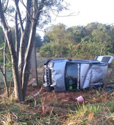 Família de Severínia sofre acidente no Paraná; Bebê de 1 ano morreu no local