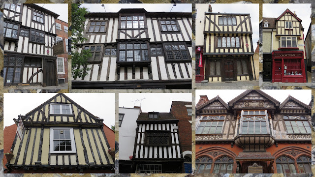 A Weekend in Canterbury England - half-timbred architecture