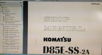 D85ss-2 A komatsu shop manual SEBM02904 1