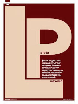Ludwika Paleta lenceria Revista SOHO Octubre 2014 [FOTOS] 1