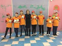 Дружина юных пожарных Знаменской школы №8 «Агенты -01»