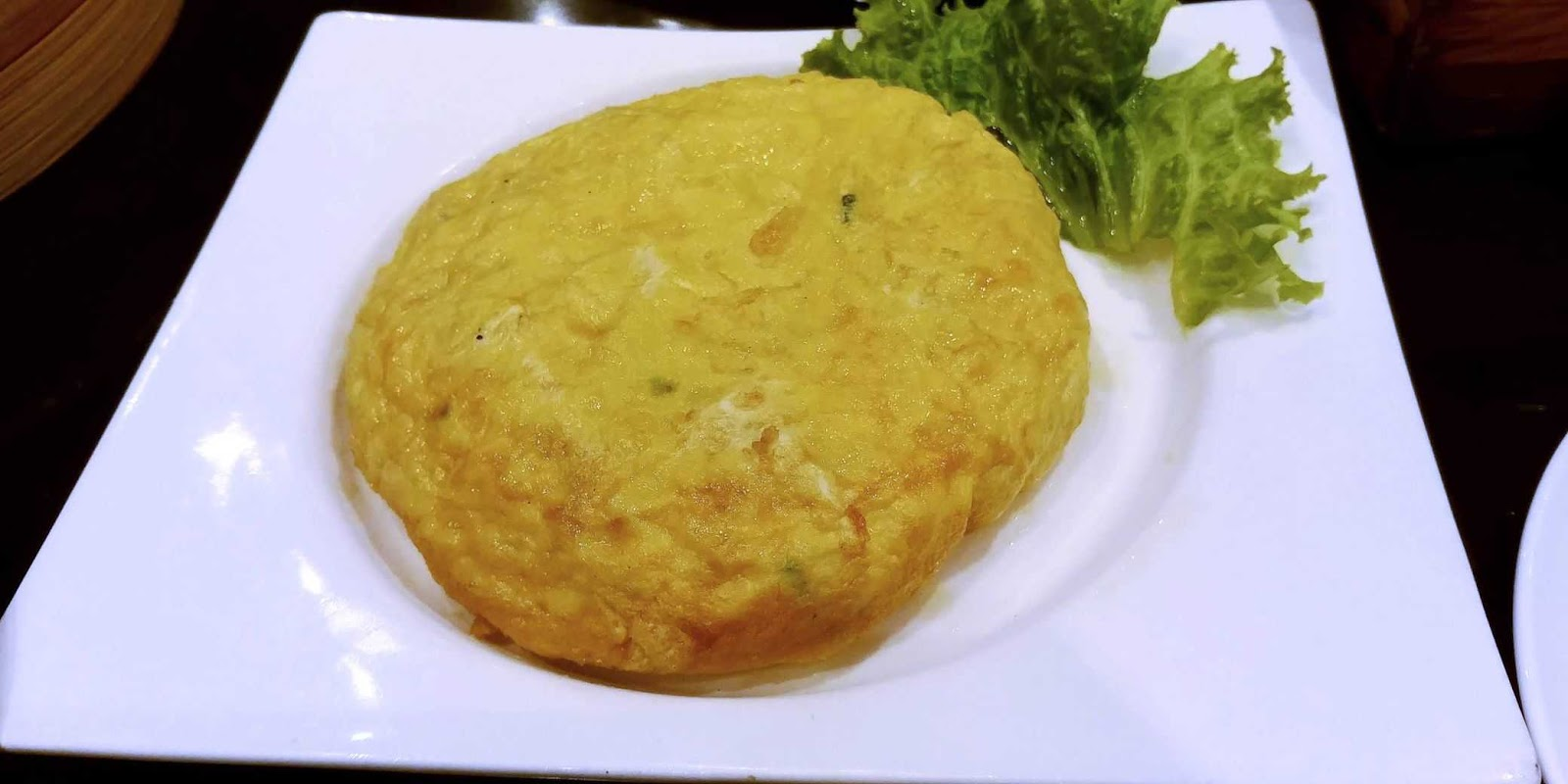 Lugang Cafe's Taiwanese Omelet with Preserved Turnip