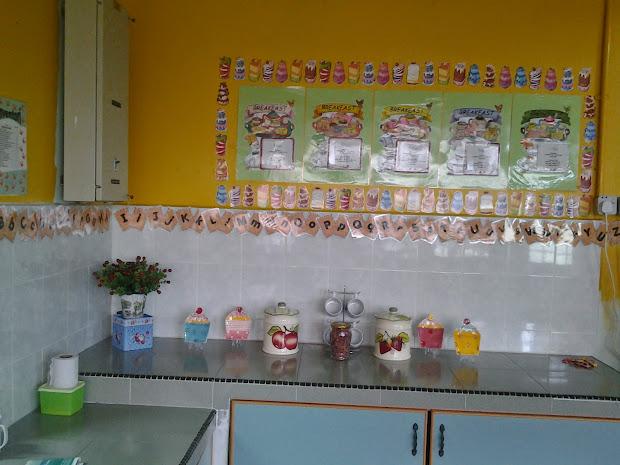 Bermulanya Di Prasekolah Ini Ubahsuai Dapur Kelas
