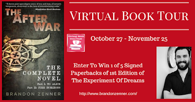 The After War by Brandon Zenner Book Tour & Giveaway