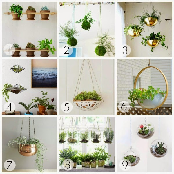 minimal hanging planter diy inspiration lindsay eryn - Diy Hanging Planter