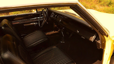 1969 Dodge Coronet Super Bee Hemi 426 Interior Dashboard