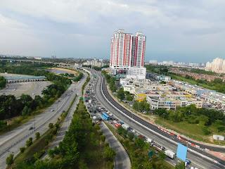Sky Park, One City, USJ, Glass Roof, Kuala Lumpur, Interesting place in Malaysia, Tempat Menarik di Malaysia, Visit Malaysia, Cuti-cuti Malaysia,