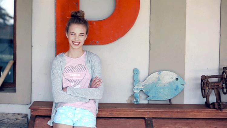 Shorts para nenas moda verano 2018.