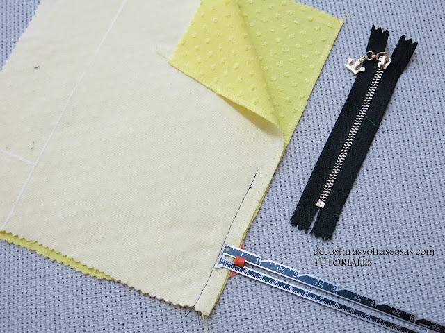 diferentes márgenes de costura