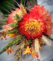 Аранжиране на есенни вази