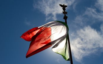 Wallpaper: Italian Flag