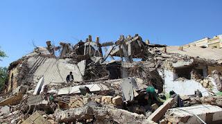 Saudi coalition bombing in Yemen