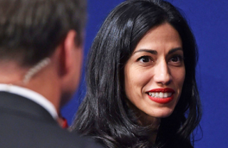 Huma Abedin Learned FBI Was Looking At Her Emails From The Press