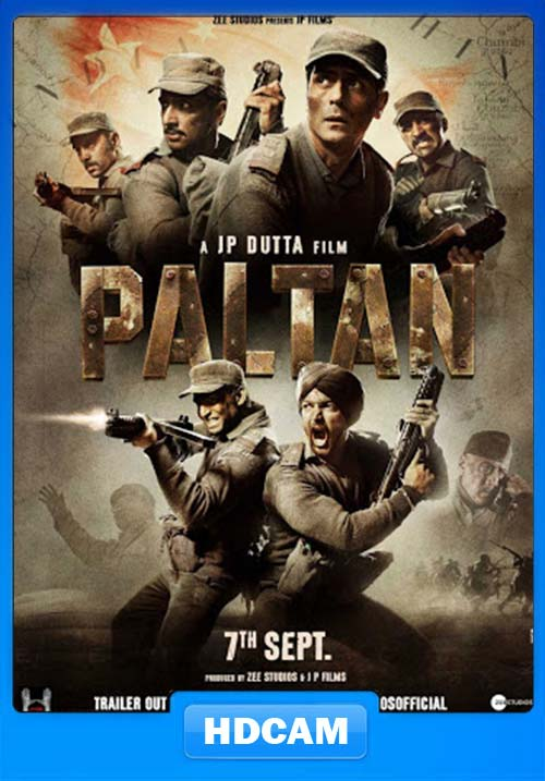 Paltan 2018 Hindi pDVDRip x264 | 480p 300MB | 100MB HEVC