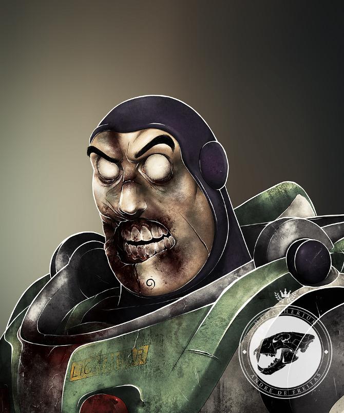 buzz lightyear zombie
