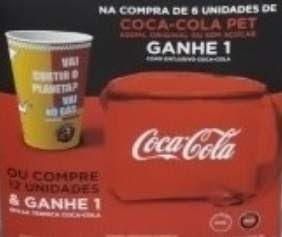 Promoção Coca-Coca Verão 2019 Compre Ganhe Copo Exclusivo ou Bolsa Térmica
