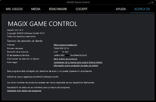 MAGIX Game Control imagenes hd