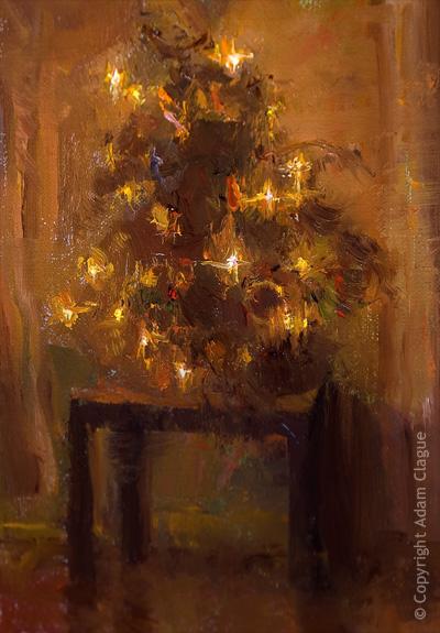 Adam Clague Fine Art Painter