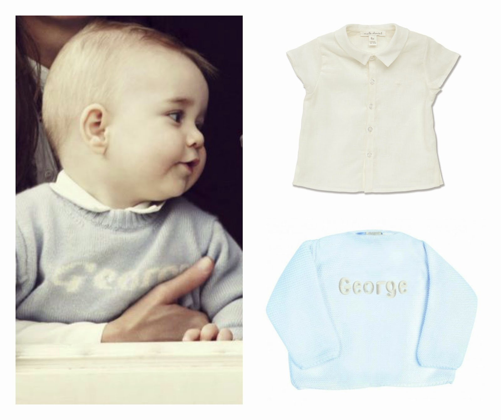 More over Princess Kate there's a new style icon in town. Step (or crawl) forward Prince George. On his 1st ever official Royal Tour in New Zealand - baby G has been spotted in in a few cute little outfits. Here's how to get the look for your own little Prince…, A Royal Collection - get Prince George's look for your VIB | prince George | royal baby | kate middleton | baby prince |get the look |rachel riley| prince |royal | prince William| duchess of cambridge | new zealand | royal tour | baby boys clothes | celebrity get the look | baby prince | george | george jumper | princes | clothe s|fashion |style | kate| catherine | wills | prince clothes | george | royal collection