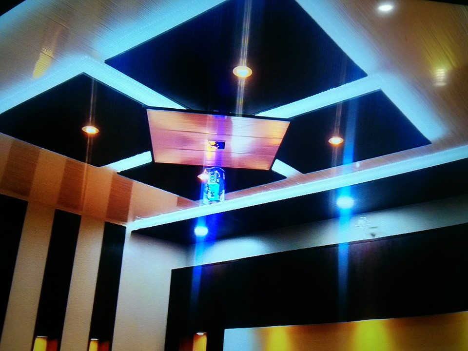 Pvc Wall Panel Room Ceiling Design Wall Decor