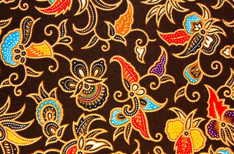 batik jawa hasil tekstil