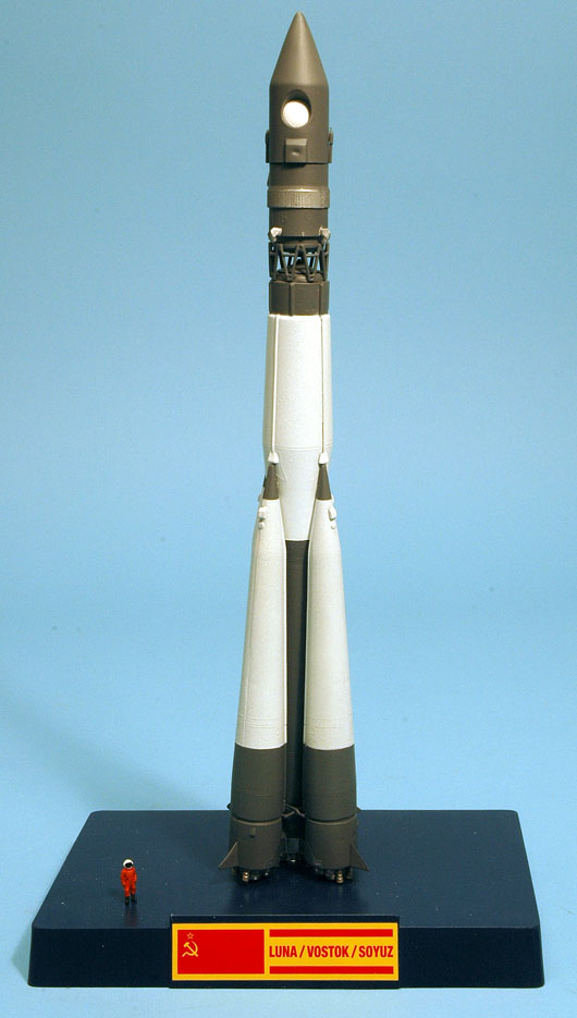 When Is It Too Cold To Paint Outside Airfix Vostok Rocket Part 2 - Is White Right? ~ Megamag 2