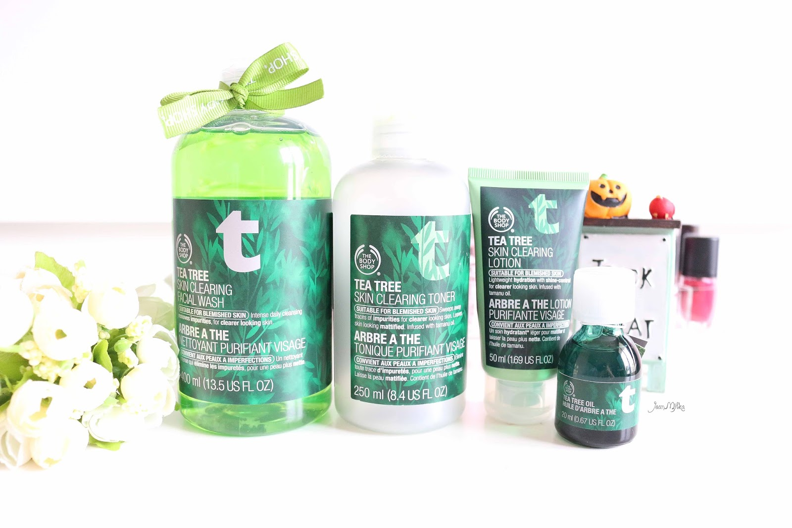 the body shop, body shop, body shop tea tree, tea tree, jerawat, acne, oily skin, skin care, beauty blog
