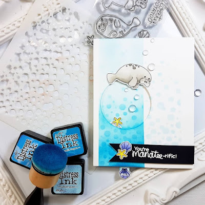 You're manatee-rific by Plans and Parcels features Bubbly and Manatee-rific by Newton's Nook Designs; #newtonsnook