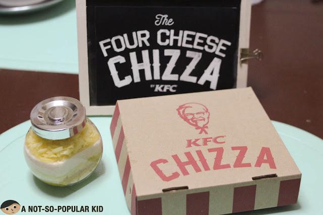KFC 4 Cheese Chizza