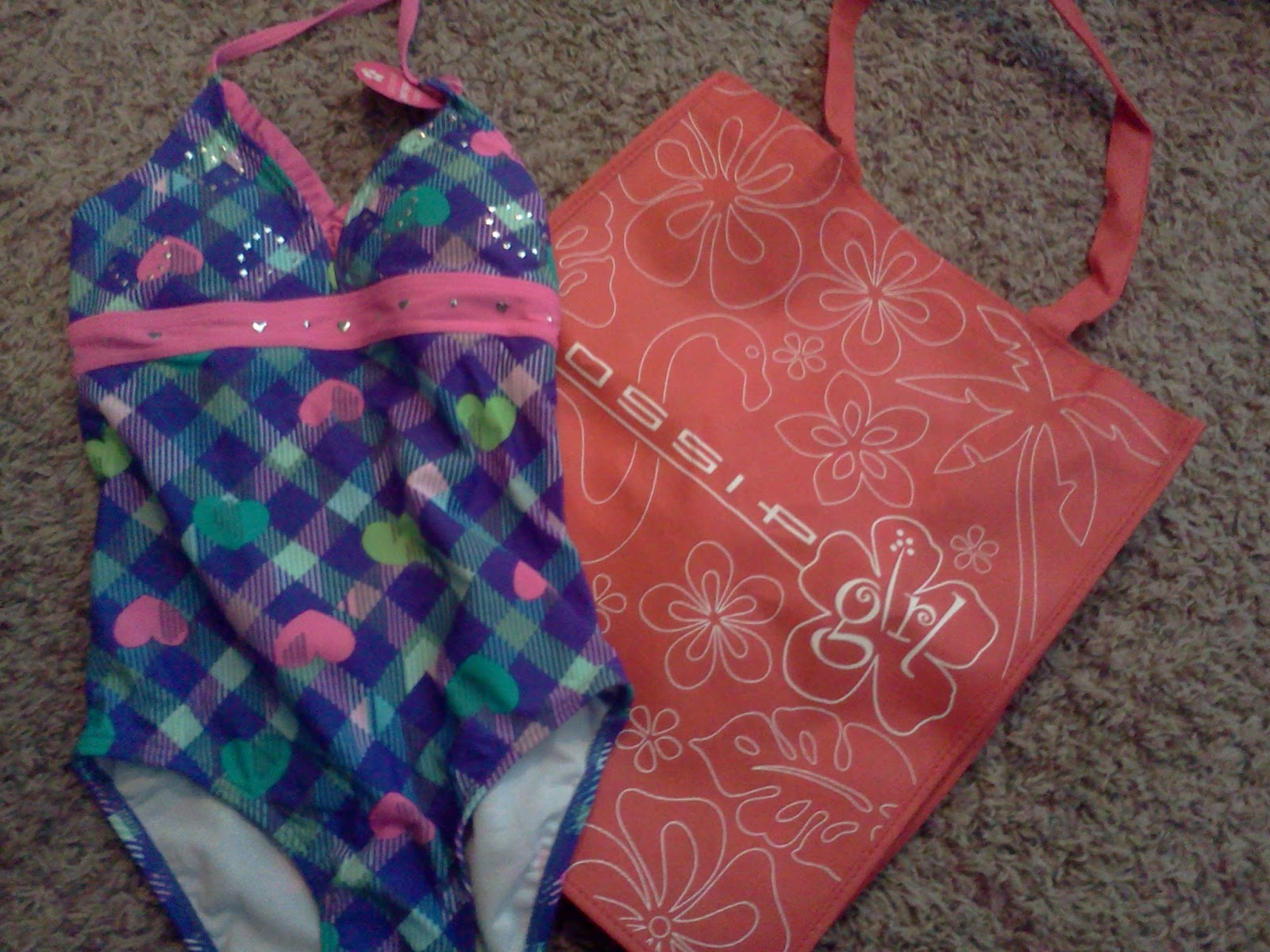 Gymboree Baby Toddler Girl 1pc Swimsuit UPF 50 18 24 Mos 2T NWT Retail Store
