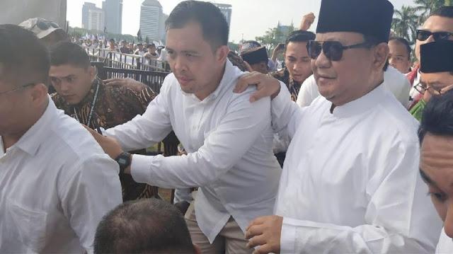 Prabowo: Saya Tak Boleh Kampanye di Reuni 212