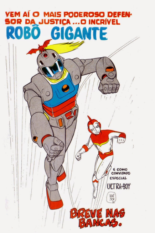 robô gigante grafipar