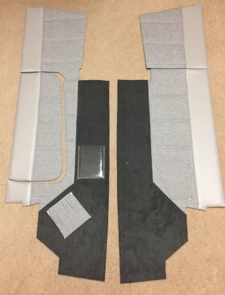 Airtex Wall Panels and Headliner   N98297 - Cherokee 140B