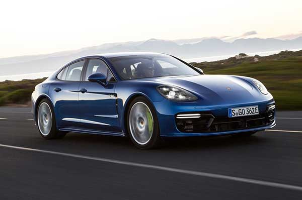 Porsche Panamera 4 E-Hybrid: The Best Hybrid Cars with Android Technology 2019: easkme