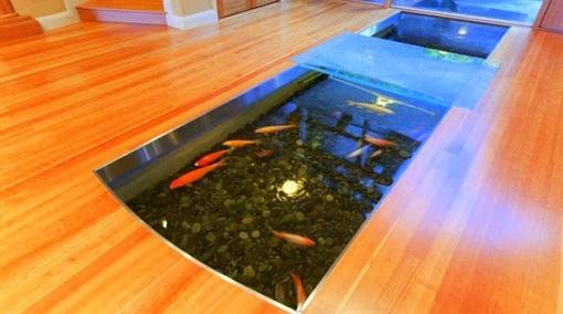Inspirasi Kolam Ikan Dalam Rumah - Budidaya Ikan