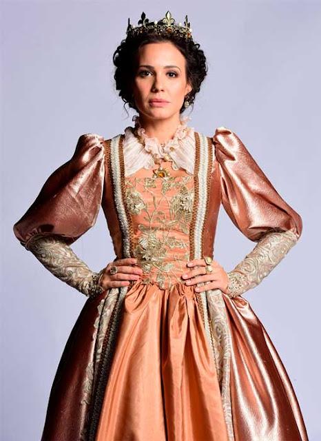 Figurino de Belaventura: Rainha