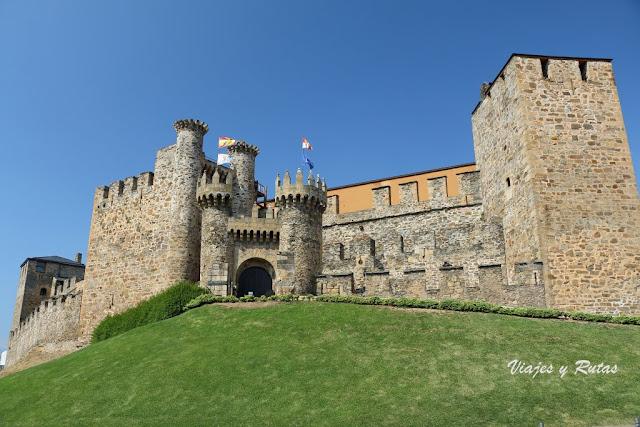 Castillo templario de Ponferrada, León