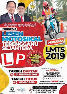 Lesen Motosikal Percuma