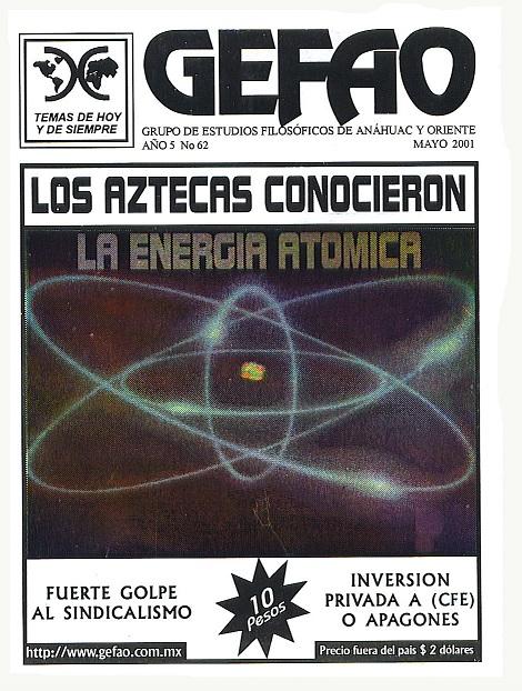 Revista GEFAO Los Aztecas conocieron la Energia Nuclear